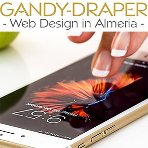 Gandy-Draper web design in Almeria